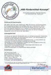 HSE-Fördermittel-Konzept